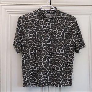 Soft Zara leopard print t-shirt